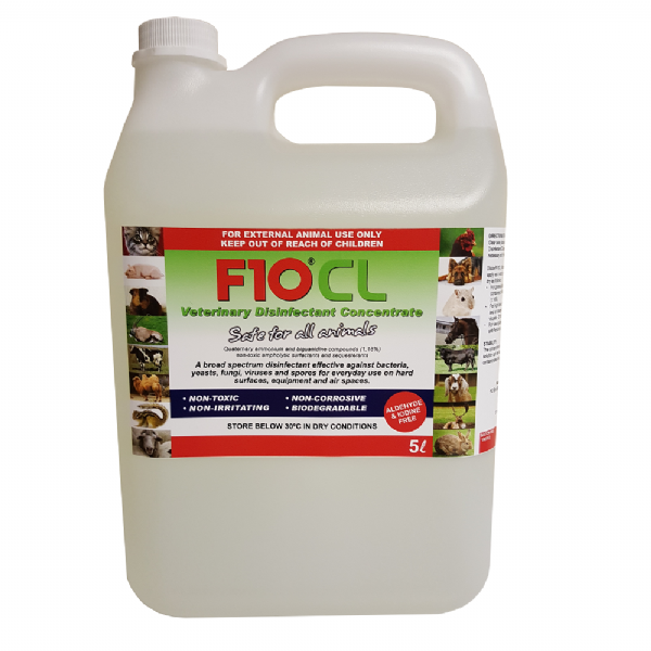 F10CL Veterinary Disinfectant